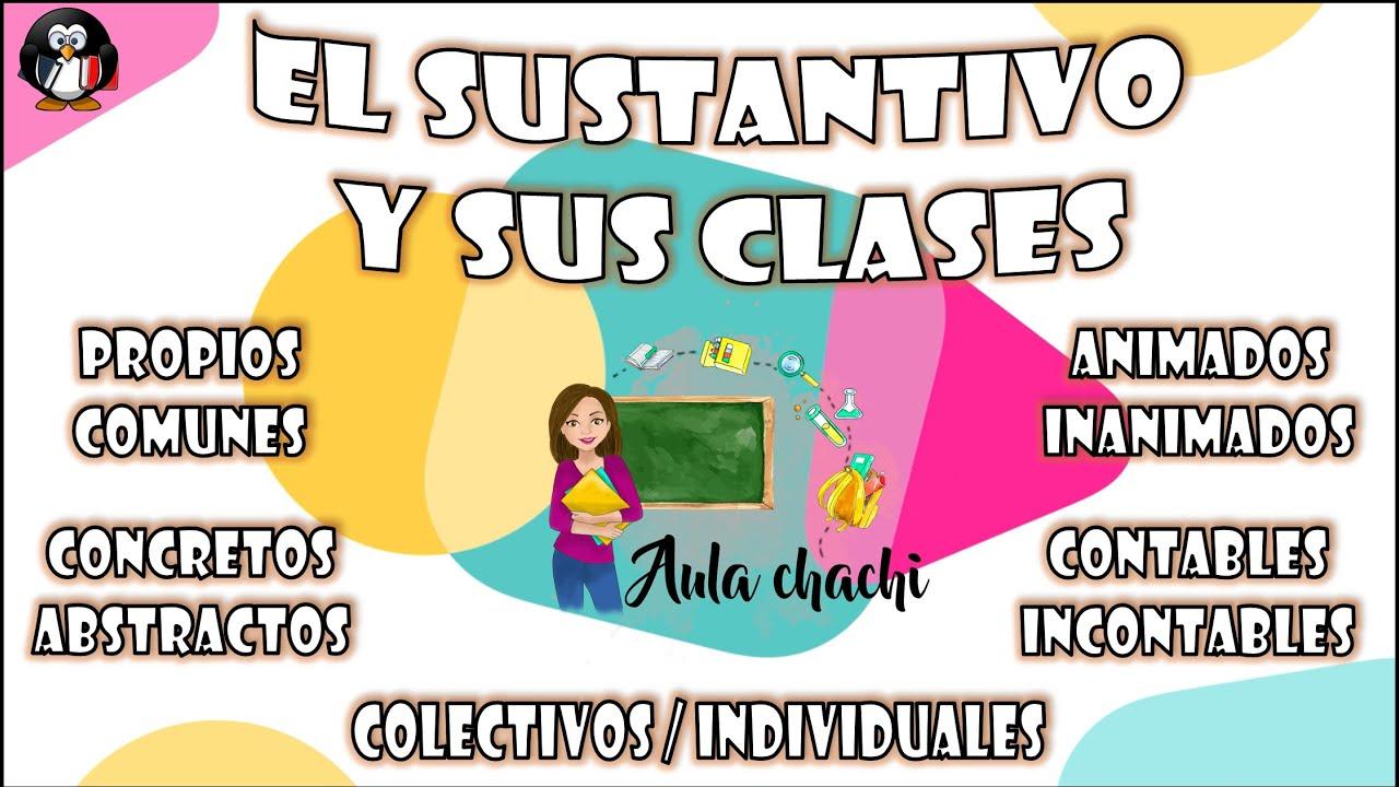 El Sustantivo Y Sus Clases Aula Chachi Vídeos Educativos Para Niños Youtube