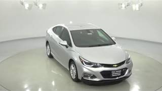 180438 - New 2018 Chevrolet Cruze Silver Test Drive