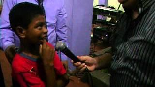 Apostol Matias Mohe Niño Mudo Recibe el Habla