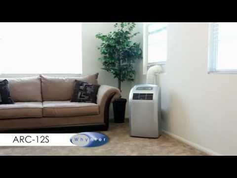 Whynter ARC 12S Portable Air Conditioner Installation Guide   YouTube