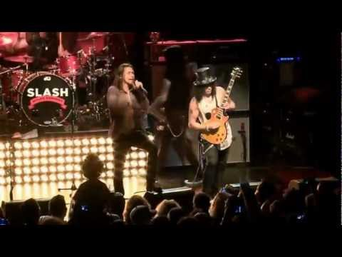 "Slash feat. Myles Kennedy &  The Conspirators – ""Sweet Child O' Mine"" [Live in NY, Irving Plaza] HD"