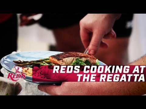 Reds Cooking at the Regatta