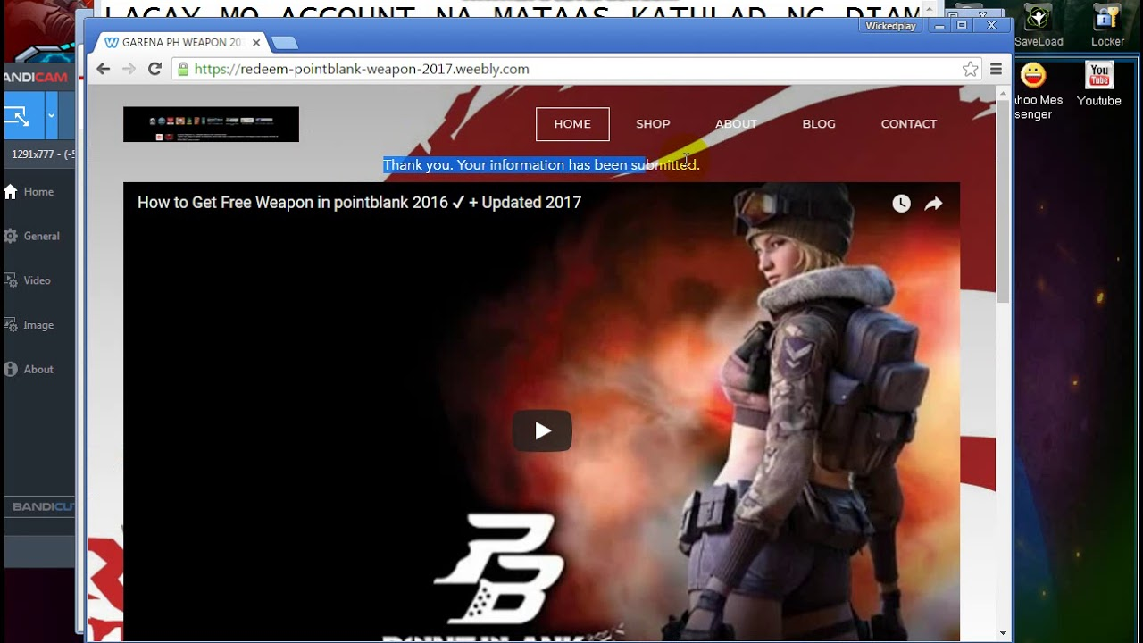 How To Get Free Weapon\n In PointBlank 2018 - смотреть