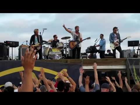 "SWITCHFOOT LIVE CONCERT in Imperial Beach, CA. 07/17/16 ""Dare You To Move"" W/LYRICS"
