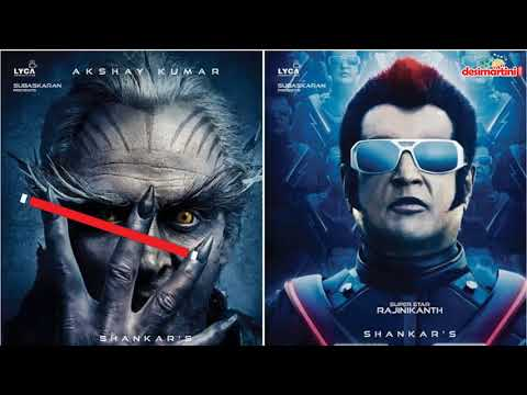 Rajinikanth and Akshay Kumar鈥檚 2.0 sets history, made on a Rs 500 crore budget