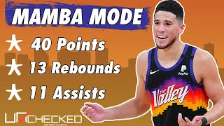 Devin Booker Does His Best Kobe Impression vs. Clippers