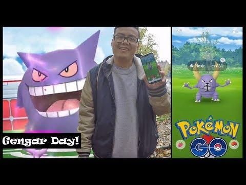 Shiny GENGAR & Shiny PINSIR! Gengar Day geht ab! Pokemon Go!