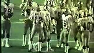 Raiders v Dolphins 1975 1/2
