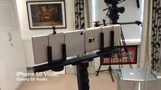 Sony Xperia Z2 vs Samsung Galaxy S5 4K Video & Audio Comparison