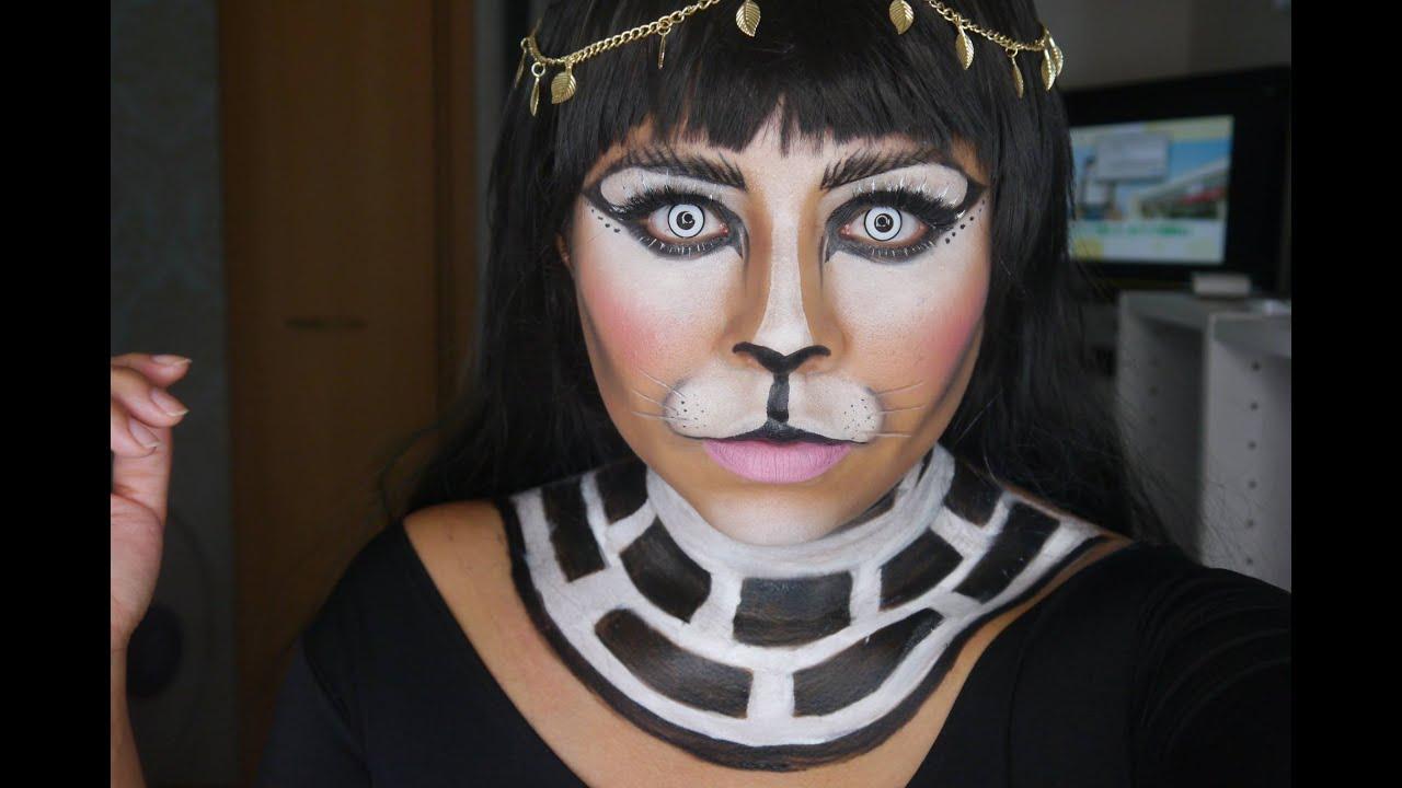 Maquillaje Gata Halloween Excellent Maquillaje De Leopardo Para