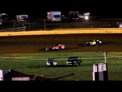 Bluegrass Speedway Open Wheel Feature 9-25-2010