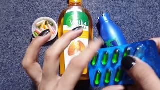 Double Hair Growth Oil Thick Long Hair | Coconut Oil | Almond Oi +Vitamin E Capsules | Gharelu Totk