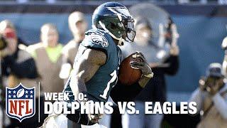 Sam Bradford Escapes the Sack & Finds Josh Huff for the TD! | Dolphins vs. Eagles | NFL