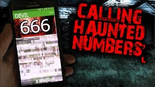CALLING HAUNTED PHONE NUMBERS! - WILL THE DEVIL PICK UP THE PHONE?