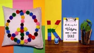 DIY Room Decor - 5 DIY Room Decorating Ideas