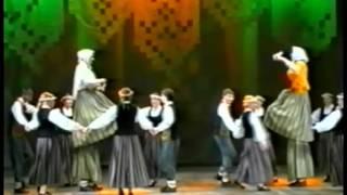 Latvian dance Gara sieva