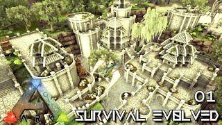 ARK: SURVIVAL EVOLVED - NEW EPIC JOURNEY BEGINS !!! | PARADOS GAIA AMISSA E01