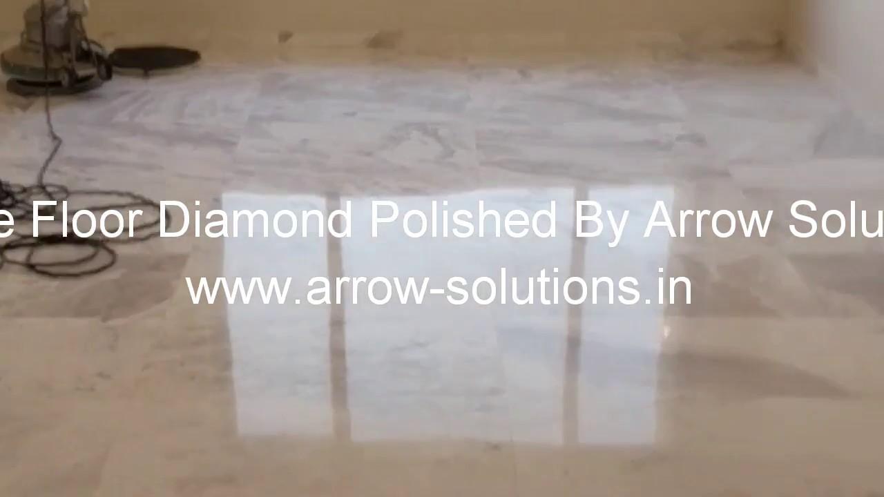 Mirror Shine On Marble Floor Youtube