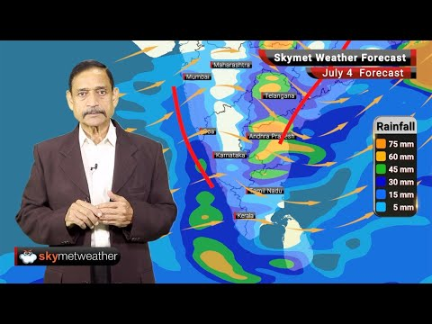Weather Forecast July 4: Monsoon Wait Gets longer over North India, Heavy Rain Continue over East