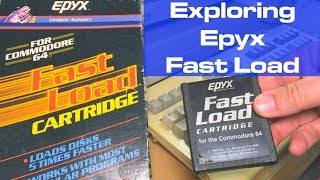 Exploring Epyx Fast Load for the Commodore 64