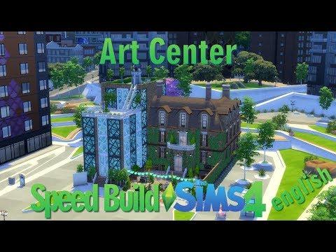 Sims 4 - Speed Build - Art Center - english - #1