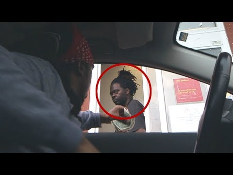 Blasting LOUD MUSIC At The Drive Thru PRANK