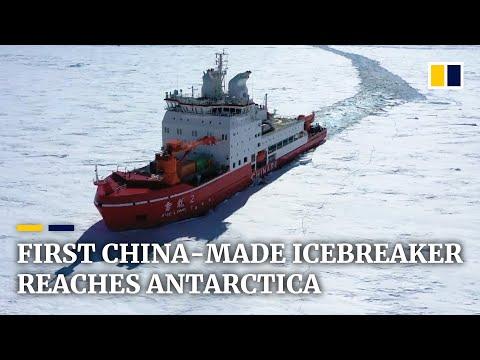 China-made Polar Icebreaker Reaches Antarctica On Maiden Voyage