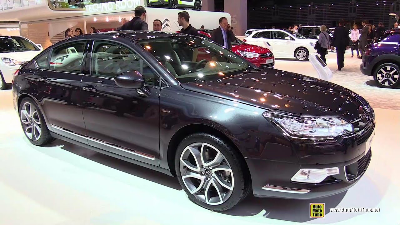 2015 citroen c5 exterior and interior walkaround 2014 paris auto show youtube. Black Bedroom Furniture Sets. Home Design Ideas