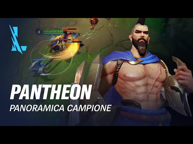 Panoramica campione Pantheon | Gameplay - League of Legends: Wild Rift