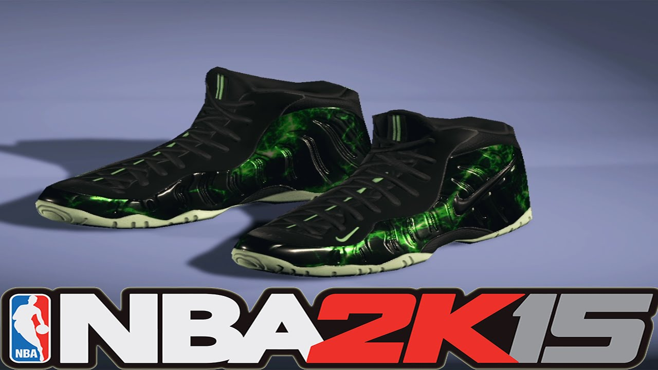 hot sale online 8e0df 7f5b0 NBA 2K15 Next Gen Shoes - Nike Air Foamposite Pro Matrix - YouTube