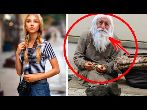 Девушка накормила уличного бомжа и приютила его у себя дома. И вот как он её отблагодарил...
