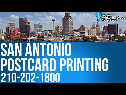 Printing Postcards & Mailing Services San Antonio TX 210-202-1800 | La Luz Marketing Group