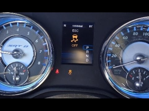 Disabling Electronic Stability Control On Chrysler 300