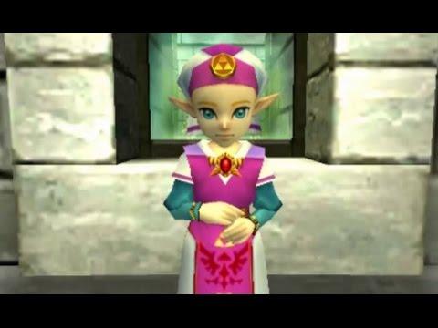 The Legend Of Zelda Ocarina Of Time 3d 100 Walkthrough Part 2 Hyrule Castle Lon Lon Ranch