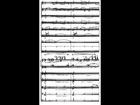 Charles Ives - The Gong on the Hook and Ladder for Orchestra (1911) [Score-Video]