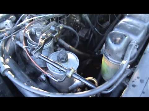 Промывка системы гидроусилителя. M.B.- W 140