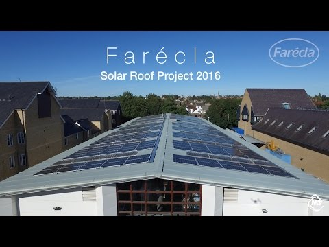 Farécla Solar Roof Project 2016