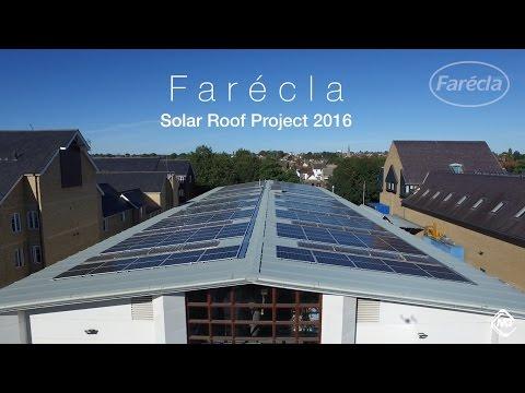 Farécla Solar Roof Project 2016