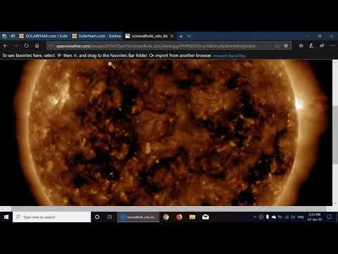 Solar activity and radio propagation outlook week of january 7th 2019