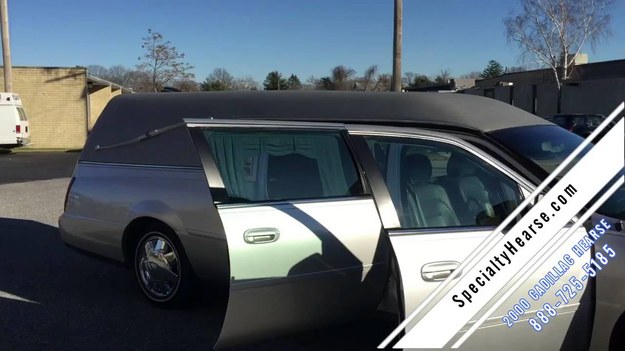 2000 CADILLAC USED HEARSE FOR SALE
