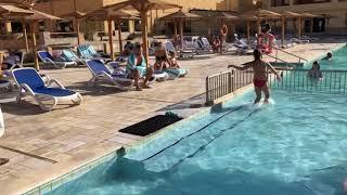 Аквапарк в отеле Роял Тулип Курорт Марса Алам Отдых с детьми сайт oksana travel