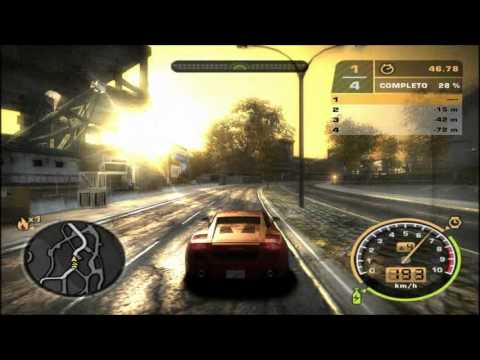 Need For Speed Most Wanted - Lamborghini Gallardo Travel Video