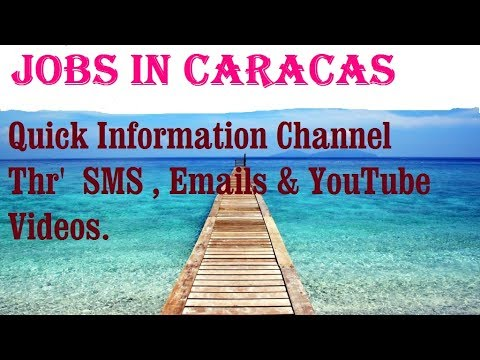 Jobs in CARACAS   City for freshers & graduates. industries, companies.  VENEZUELA