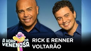Após polêmicas, Rick e Renner voltarão