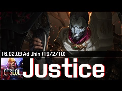746. Justice - 진 하이라이트 / Jhin Highlights