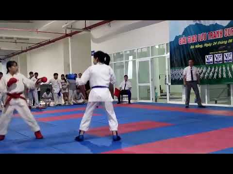 KARATE || Chung kết Kumite Nữ || Giải giao lưu VietCupFract 20180624
