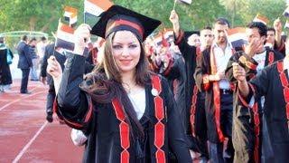 حفلة تخرج قسم الكيمياء- كلية العلوم-جامعة بغداد 2011-2012