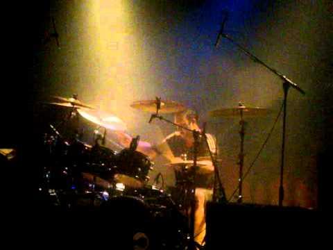 Gamma Ray, Dan Zimmerman Drum Solo live at the keyclub 02012011