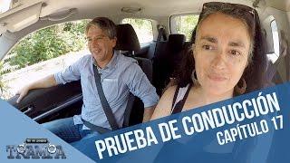 Inédita prueba de conducción | En su propia trampa