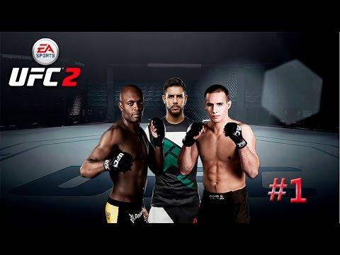UFC 2 Ultimate Team - Gameplay español - Parte 1